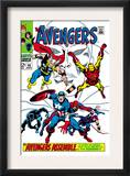 Giant-Size Avengers 1 Cover: Thor  Iron Man  Captain America and Black Panther
