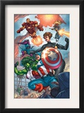 Avengers 84 Group: Captain America  She-Hulk  Lionheart  Iron Man  Hawkeye and Avengers
