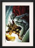 Beta Ray Bill: Godhunter 2 Cover: Beta-Ray Bill and Silver Surfer