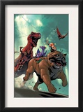 Lockjaw and the Pet Avengers 2 Cover: Lockjaw  Lockheed and Devil Dinosaur