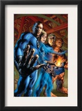 Fantastic Four 554 Cover: Mr Fantastic  Invisible Woman  Human Torch and Thing