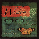 Butterfly Sentiments…Wisdom