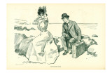 Gibson Girls His Vacation Over 1902