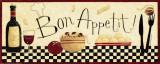 Bon appétit Reproduction d'art par Dan Dipaolo