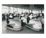Nuns Driving Bumper Cars  France
