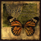 Butterfly Sentiments…Faith