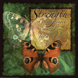 Butterfly Sentiments…Strength