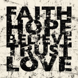Marble Faith Hope