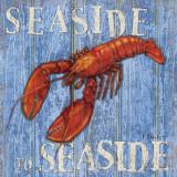 Coastal USA Lobster Reproduction d'art par Paul Brent