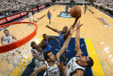 Oklahoma City Thunder v Memphis Grizzlies - Game Four  Memphis  TN - MAY 9: Nazr Mohhamed  Hamed Ha