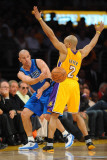 Dallas Mavericks v Los Angeles Lakers - Game One  Los Angeles  CA - MAY 2: Jason Kidd and Derek Fis