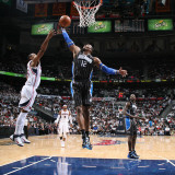 Orlando Magic v Atlanta Hawks - Game Six  Atlanta  GA - APRIL 28: Dwight Howard and Al Horford