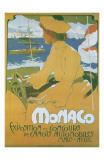 Monaco Exposition et Concours 1904 Reproduction d'art par Adolfo Hohenstein