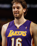 Los Angeles Lakers v New Orleans Hornets - Game Three  New Orleans  LA - APRIL 22: Pau Gasol