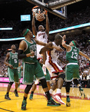 Boston Celtics v Miami Heat - Game Two  Miami  FL - MAY 03: LeBron James  Paul Pierce and Delonte W