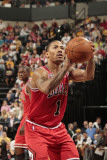 Chicago Bulls v Indiana Pacers - Game Four  Indianapolis  IN - APRIL 23: Derrick Rose