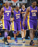 Los Angeles Lakers v New Orleans Hornets - Game Three  New Orleans  LA - APRIL 22: Pau Gasol  Kobe 