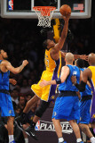 Dallas Mavericks v Los Angeles Lakers - Game Two  Los Angeles  CA - MAY 4: Andrew Bynum