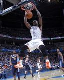 Denver Nuggets v Oklahoma City Thunder - Game Five  Oklahoma City  OK - APRIL 27: Kendrick Perkins