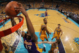 Los Angeles Lakers v New Orleans Hornets - Game Three  New Orleans  LA - APRIL 22: Andrew Bynum