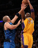 Dallas Mavericks v Los Angeles Lakers - Game Two  Los Angeles  CA - MAY 04: Kobe Bryant and Jason K