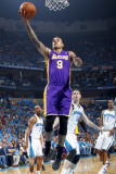 Los Angeles Lakers v New Orleans Hornets - Game Six  New Orleans  LA - APRIL 28: Matt Barnes and Ja