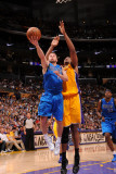 Dallas Mavericks v Los Angeles Lakers - Game Two  Los Angeles  CA - MAY 4: Jose Barea and Andrew By