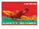Air Mail Safety Matches
