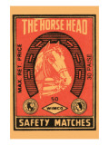 Horse Head Safety Matches