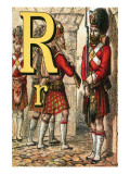 R For the Regiment Guarding the Gate