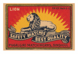 Lion Safety Matches Best Quality