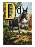 D For the Donkey With a Cross on His Back
