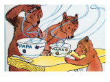Bears Discover the Porridge