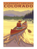 Steamboat Springs  CO - Canoe