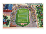 Des Moines  Iowa - Drake University; Aerial View of Stadium