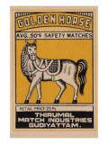 Golden Horse Avg 50's Safety Matches