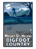 Mount St Helens - Bigfoot Scene