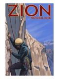 Zion National Park  UT - Climber