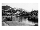 Sun Valley  Idaho - Village Square Scene