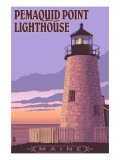 Pemaquid Lighthouse Sunset - Maine