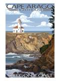Cape Arago Lighthouse - Oregon Coast