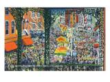 New Orleans  Louisiana - Mardi Gras Parade; Rex Greets Subjects