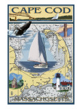 Cape Cod  Massachusetts Chart &amp; Views