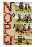 N  O  P  Q Illustrated Letters
