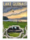Olympic National Park  Washington - Lake Quinalt