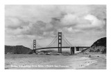 San Francisco  California - Golden Gate Bridge from Baker's Beach