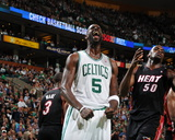 Miami Heat v Boston Celtics - Game Four  Boston  MA - MAY 9: Kevin Garnett