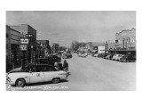 Worland  Wyoming - Street Scene