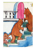 Three Bears Go Upstairs