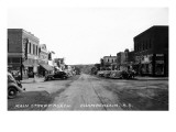 Chamberlain  South Dakota - Northern View up Main Street